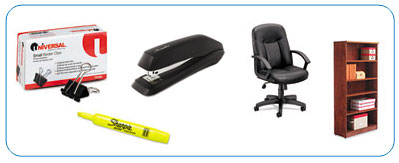 furniture and office supplies